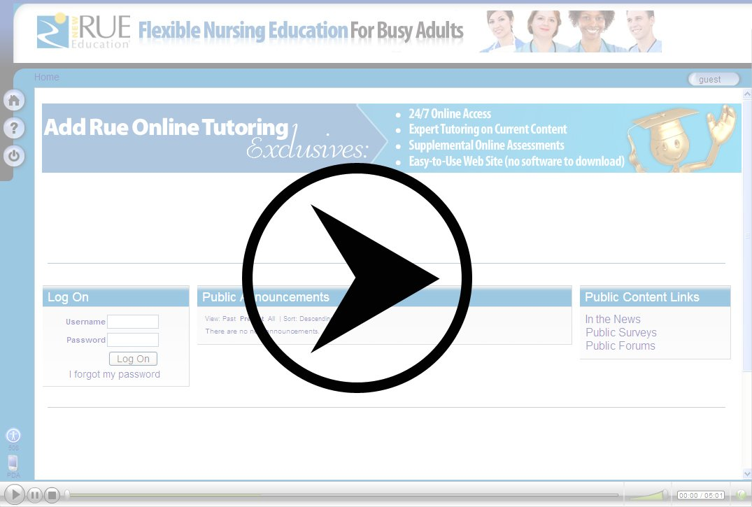 To view the online course demo you'll need a password